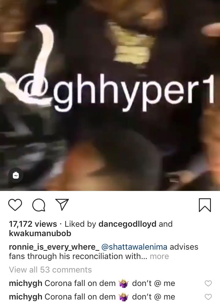 michy screenshot - Shatta Michy Reacts To The Reunion Between  Shatta Wale & Yaa Pono