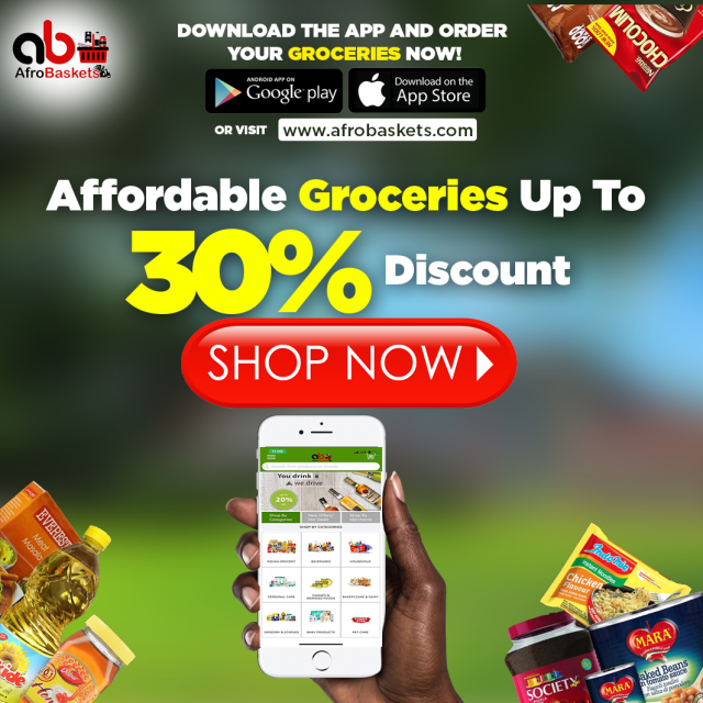 Affordable Groceries up to 20% Discount.