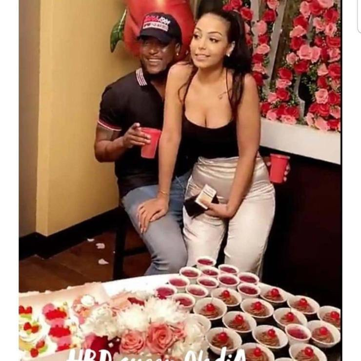 Nadia and new boyfriend, Latif (Ex boyfriend of Hajia4Real)
