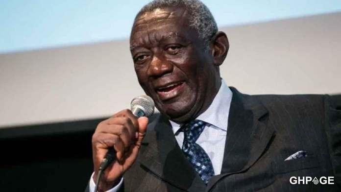 Ex-President Kufuor backs EC on New Voter's Register