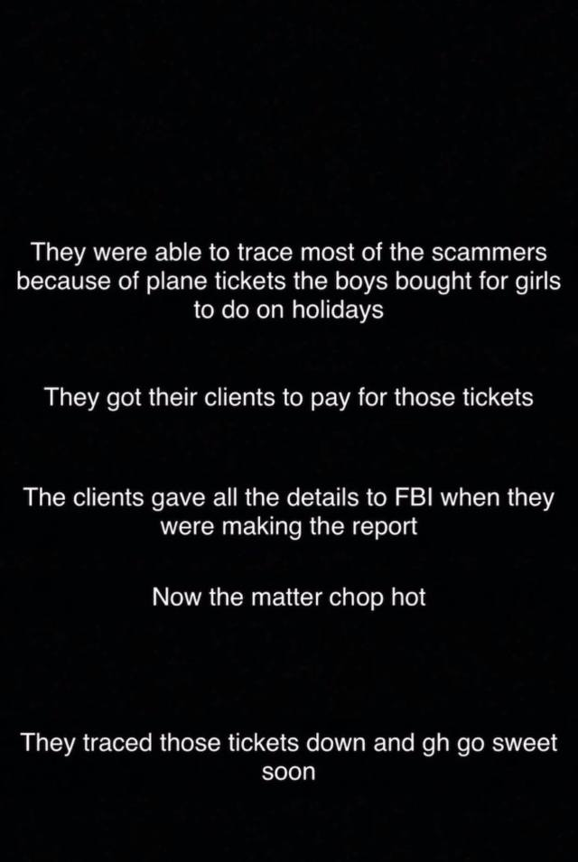 Scammers traced by FBI