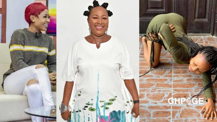 Akuapem Poloo's mother breaks silence on the leaked bedroom video