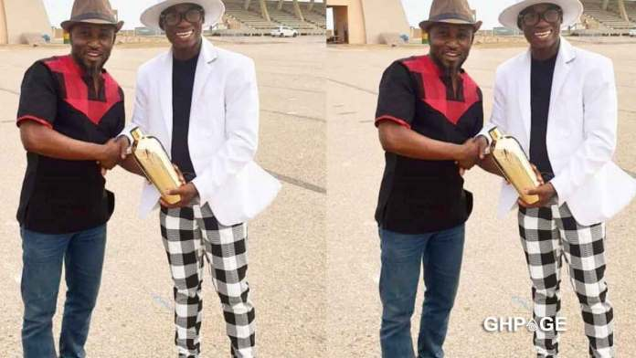 Dr UN and George Quaye