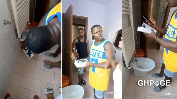 Man caught filming best friend's wife taking her bath
