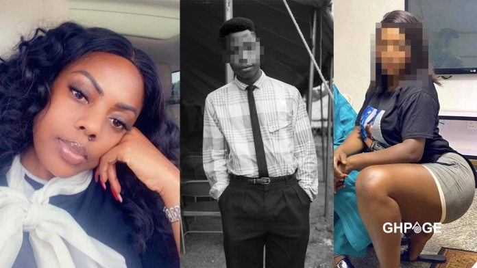 Young man sexually abused by step mother complains to Nana Aba Anamoah