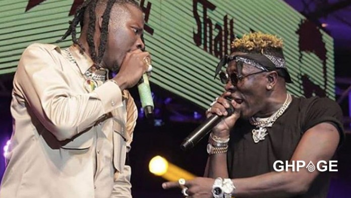 Stonebwoy reacts after Shatta Wale called him a cripple at soundclash