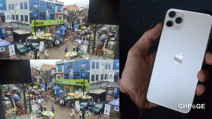 Man buys Vitamin C as an iPhone 11 pro max from a phone seller
