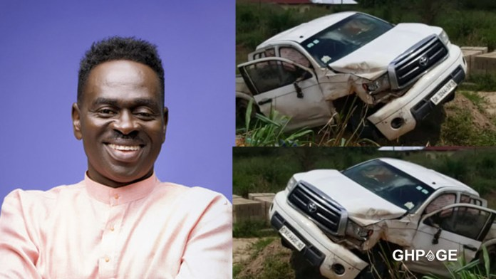 Yaw Sarpong involved in a serious accident