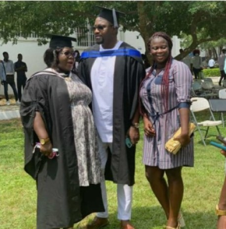 John Dumelo graduation