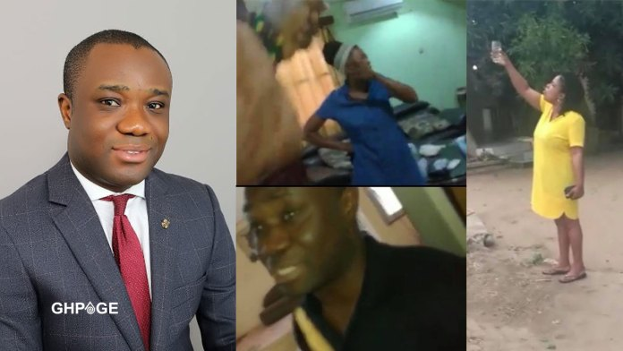 Felix Ofosu Kwakye caught in a sex scandal with another's wife