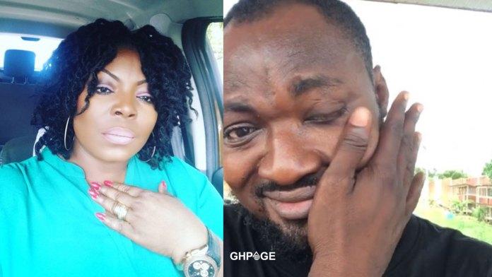 Maame Yeboah Asiedu Funny Face