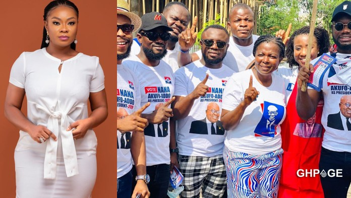 Beverly Afaglo slams colleagues for campaigning against Dumelo just because of money