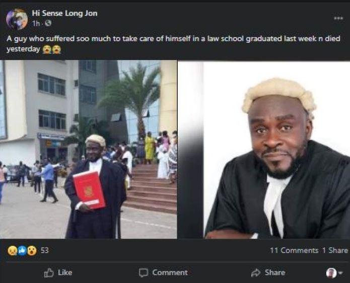 Lawyer dead