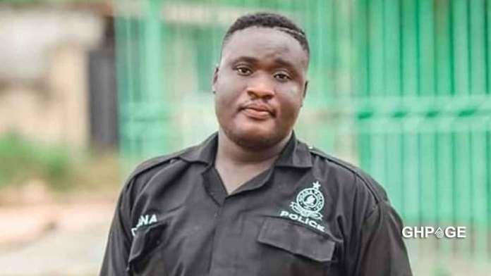 Policeman killed by his own gun