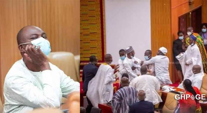 Kennedy Agyapong chaos parliament