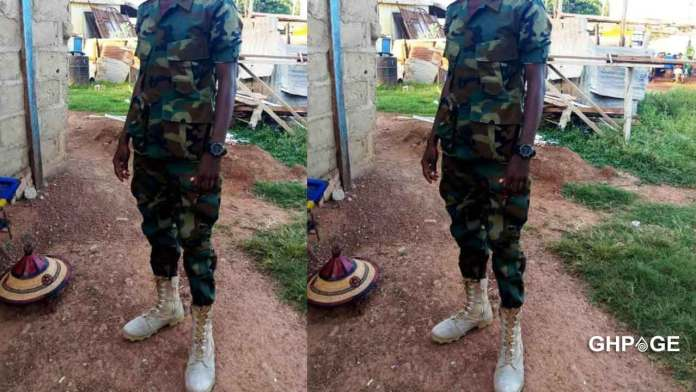 Soldier arrested for allegedly having an affair with 14 years old girl