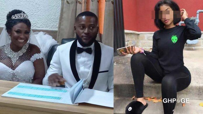 Lady curses Abena Moet's husband for being Ashawo
