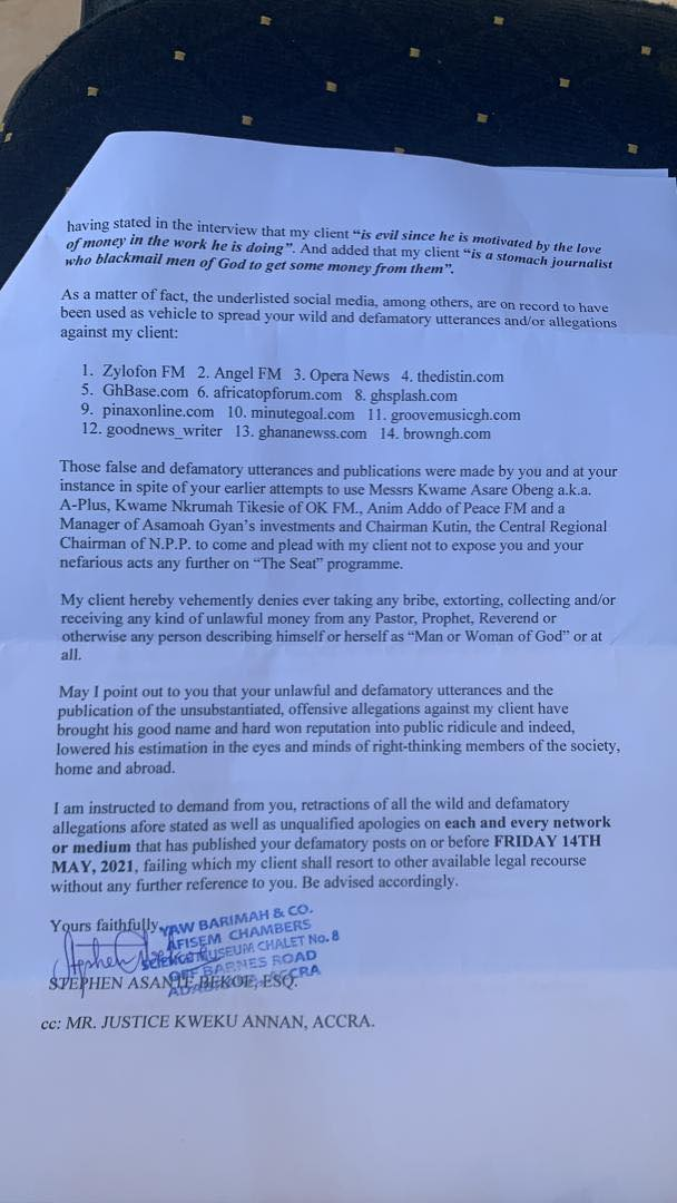mr annan threatens to sue nigel gaisie 2