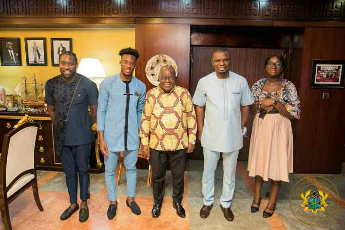 Nana Akufo-Addo urges Sports Minister to convince Hudson-Odoi to play for Black Stars 3