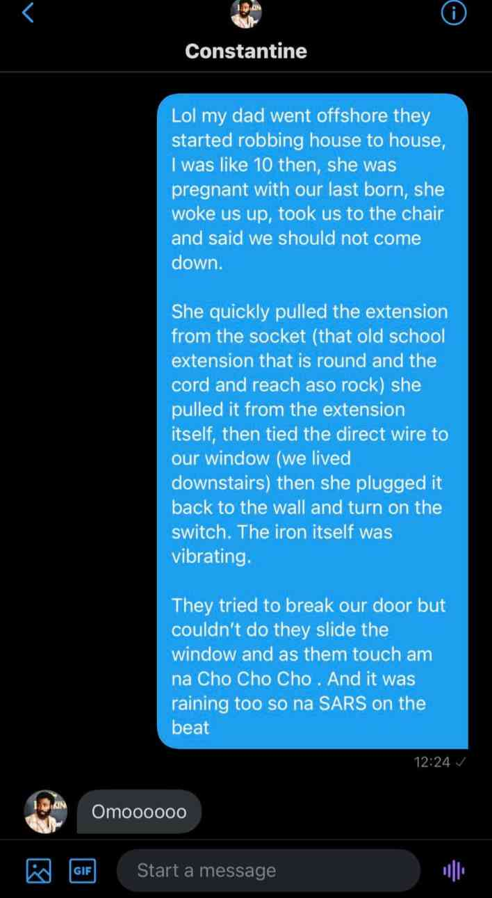 Man narrates how his 'gangster mum' electrocuted five men in robbery attempt 3
