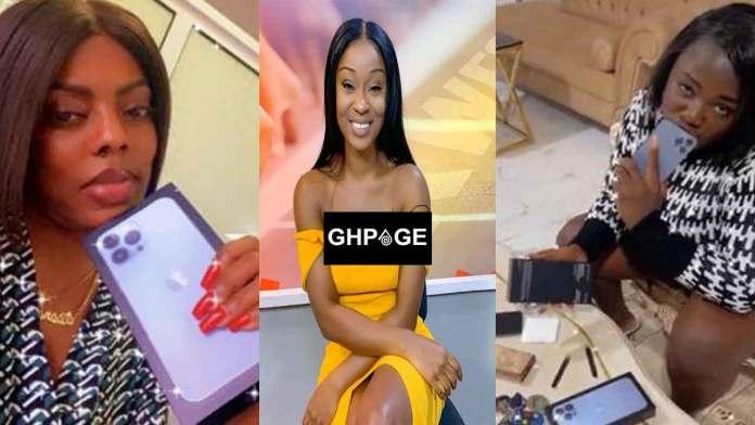 Nana Aba Anamoah, Efia Odo and Tracey Boakye