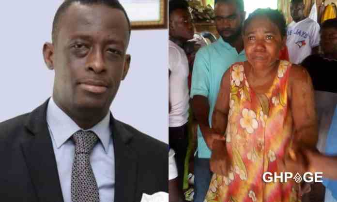 Western Region Minister Justice Acquah and Josephine Payin Mensah