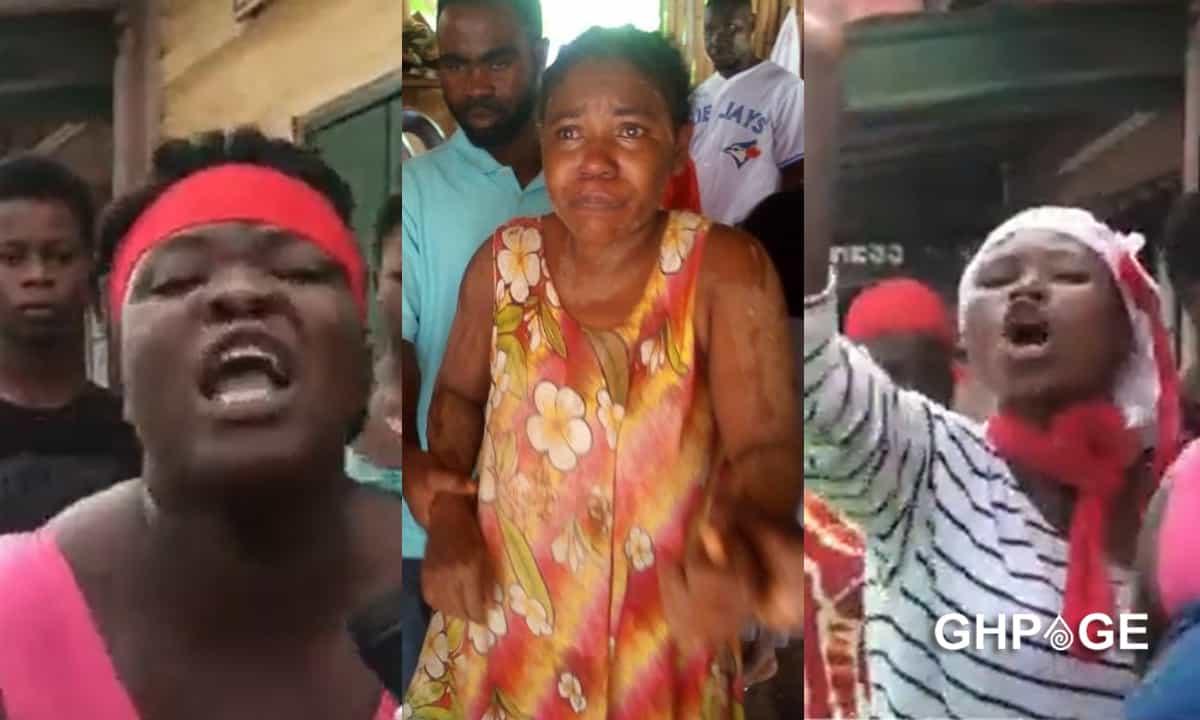 takoradi residents protest pregnant woman news