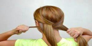 سنبلة شعر بطريقة سهلة للبنات