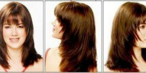طريقة قص الشعر مدرج بنفسك