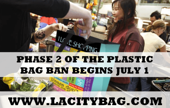 Phase 2 of the Plastic Bag Ban Goes into Effect on July 1
