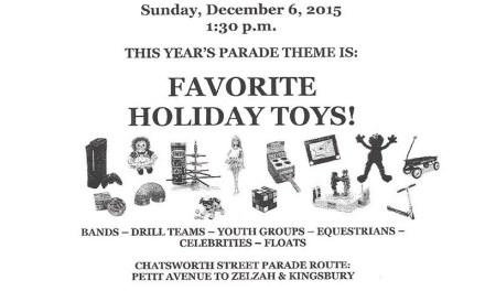 32nd Annual Granada Hills Holiday Parade – December 6