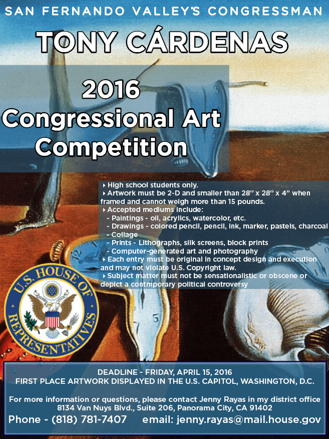 2016 Congressional Art Competition