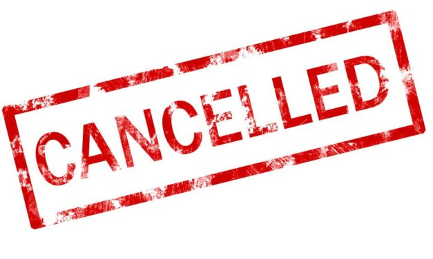 June 2, 2016 Meeting Cancellation
