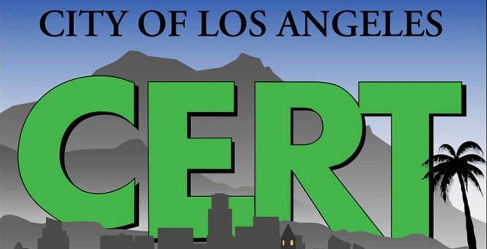 Free LAFD Community Emergency Response Team (CERT) Course in Granada Hills