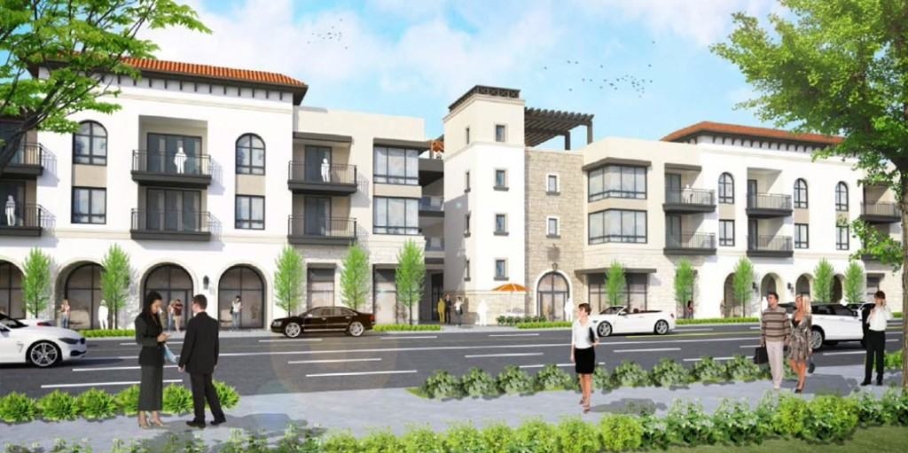 Renderings Revealed for Mixed-Use Development in Granada Hills