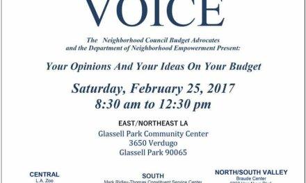 Regional Budget Day – Saturday, February 25