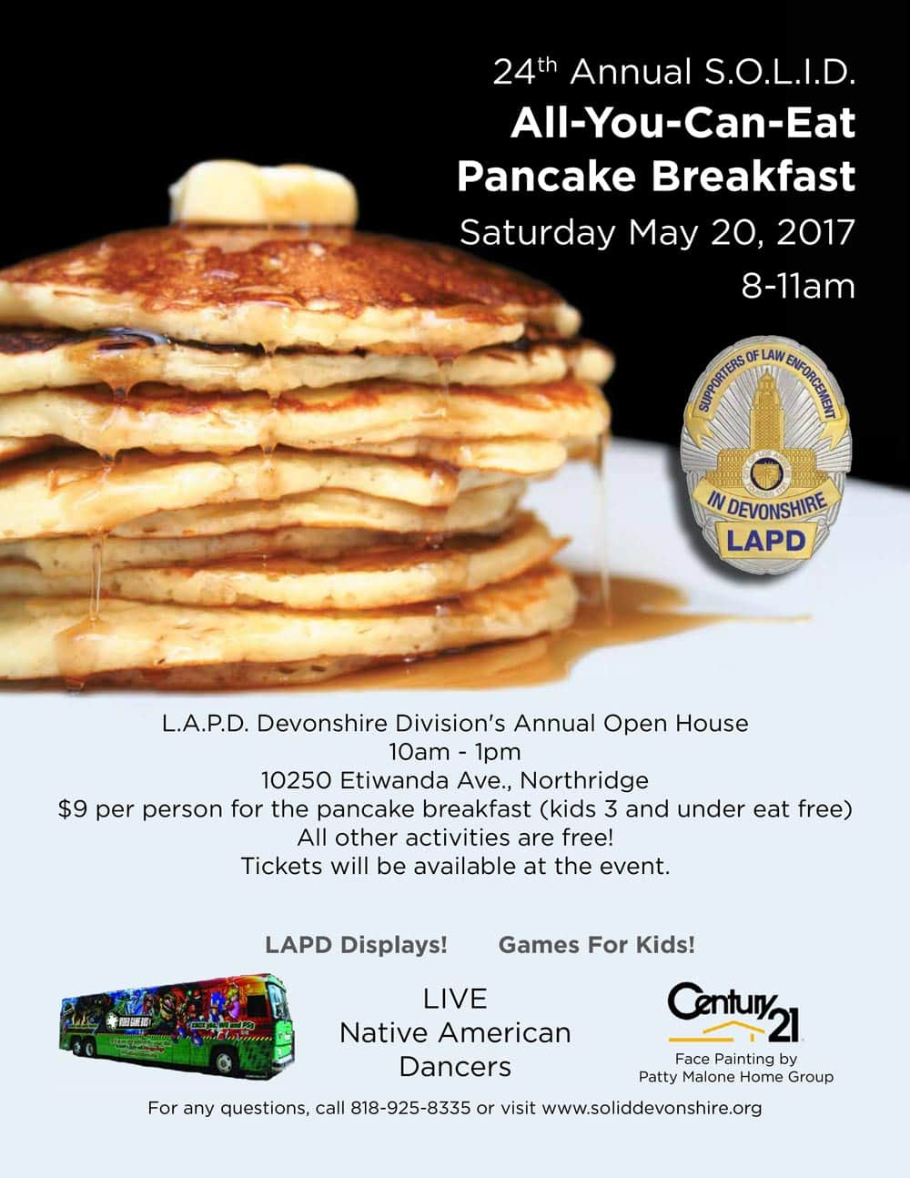 24th Annual SOLID All-You-Can-Eat Pancake Breakfast