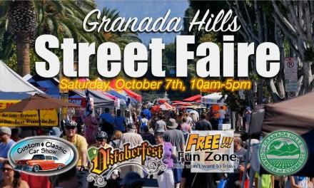 2017 Granada Hills Street Faire this Saturday!