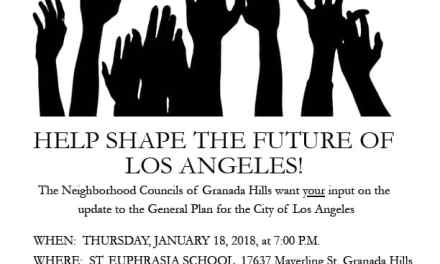 Granada Hills Community Forum for the Los Angeles General Plan