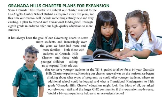 Granada Hills Charter Plans for Expansion (K-8)