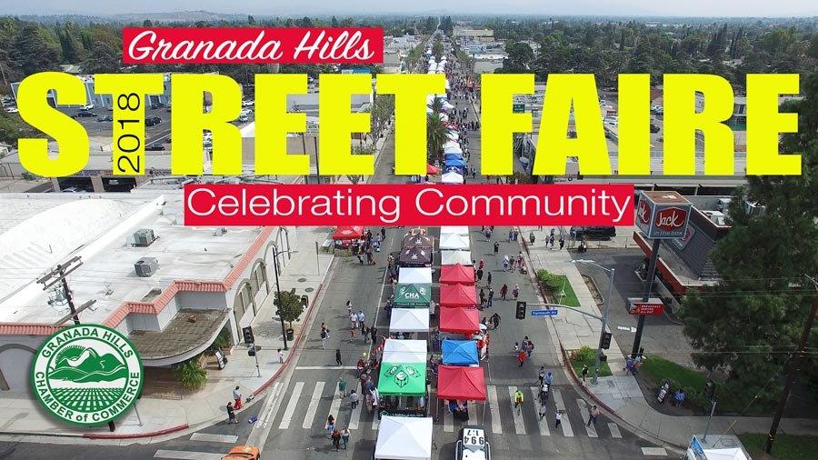 Granada Hills Street Faire Video