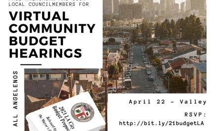 Valley Budget Listening Session – April 22