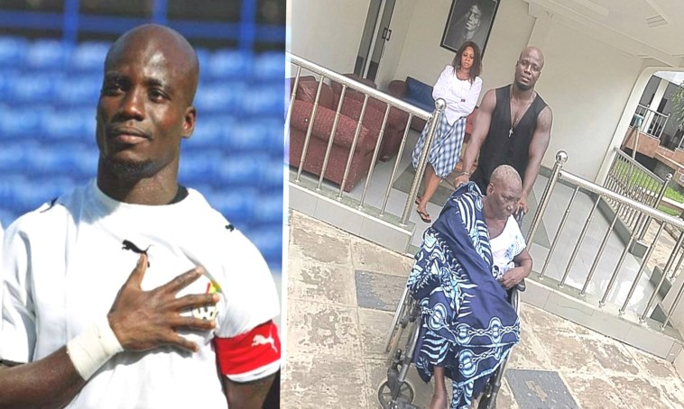 Image result for Stephen Appiah Cancels Birthday Football Gala As Mum Dies