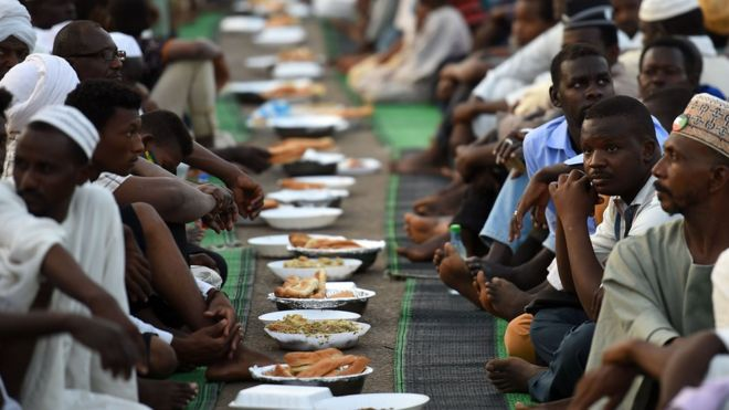 Image result for Nigeria 80 people arrested for eat ramadhan