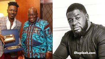 Shatta Wale, Nana Akuffo Addo and Bulldog