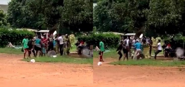 2 food vendors at legon fight over a male customer