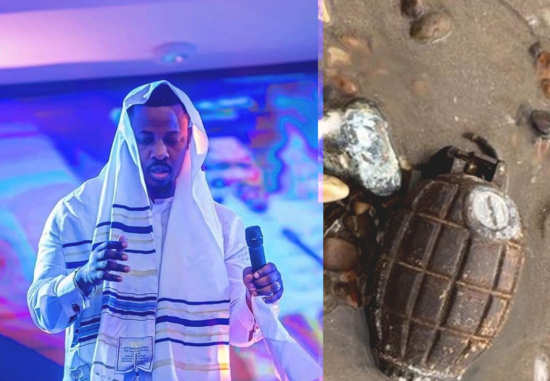 Nigel Gaisie's bomb prophecy comes to pass as bomb explosion injured 4 at La, Accra (Video)