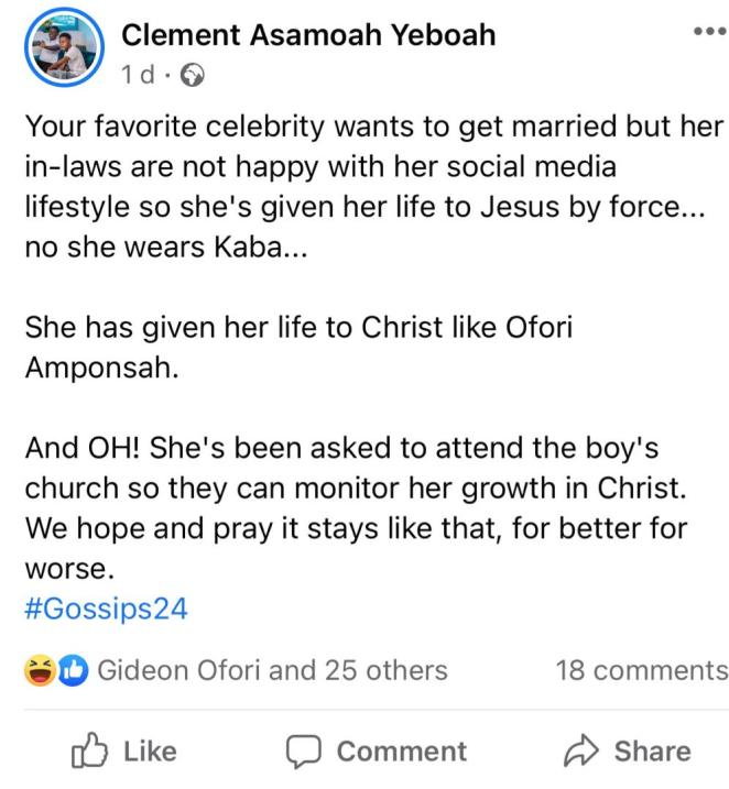 Moesha Allegedly becomes born again after her fiance's family objected her lifestyle during marriage introduction 1