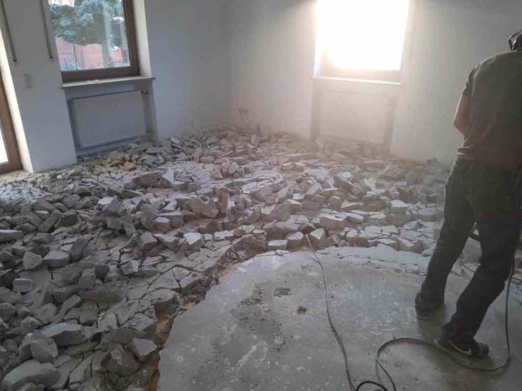 Haus entkernen