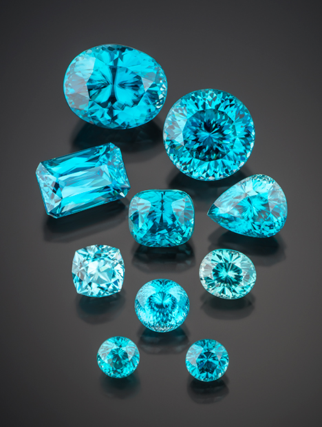Reversible Color Modification Of Blue Zircon By Long Wave